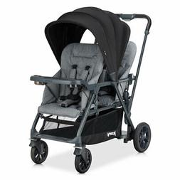 Joovy 8219 Caboose S Too Sit and Stand Double Stroller for K