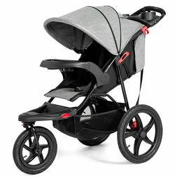 Baby Jogger Foldable Lightweight Infant Baby Stroller Jogger