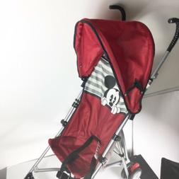 Disney Baby Mickey Mouse Umbrella Stroller with Basket Folda