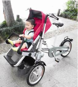 Bicycle and Baby Stroller 2in1- Convert From Bike To Strolle