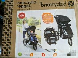 BRAND NEW BABY TREND Cityscape Jogger Travel System SPARROW