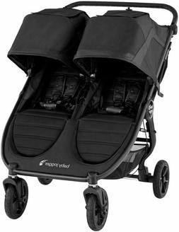 Baby Jogger City Mini GT2 Twin Baby Double Stroller Jet NEW