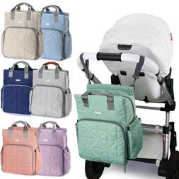 Fashion Baby Diaper Bag Mummy Outdoor Backpack Stroller Bugg
