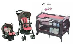 Graco Baby Stroller with Car Seat Baby Trend Playard Travel