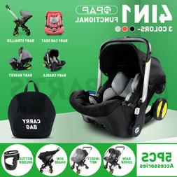 Infant Car Seats Stroller Combos 4 in 1 for newborn, light w