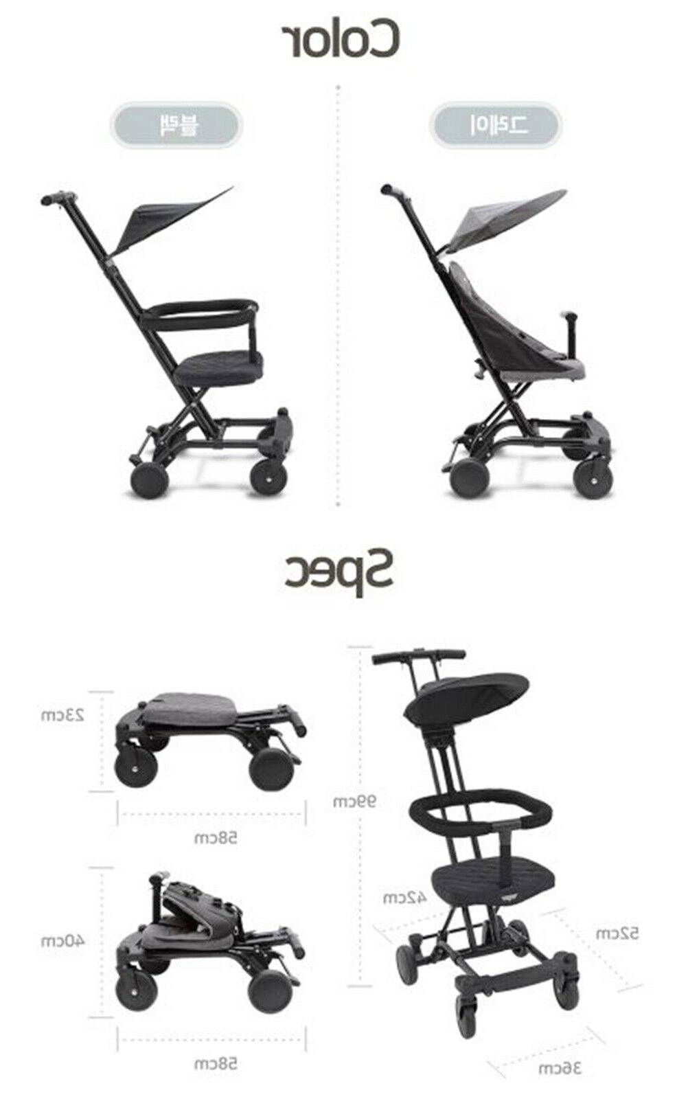 KEENZ AIR Baby Foldable Stroller
