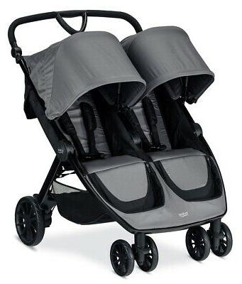 Britax B-Lively Stroller - Dove - Brand Shipping!