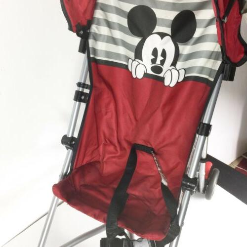 Disney Baby Mouse Umbrella with Basket Foldable