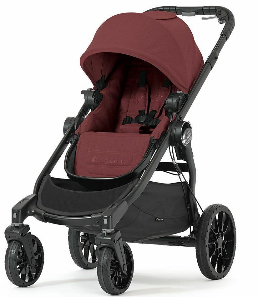 Baby Jogger City Select Lux Twin Tandem Double Stroller w Se