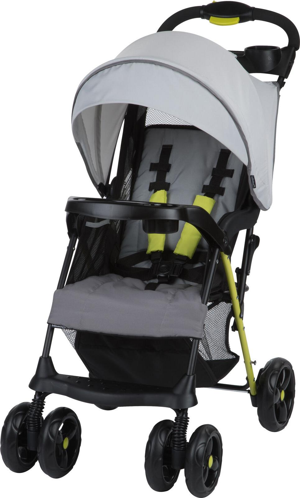 flash standard lightweight baby stroller gray ombre