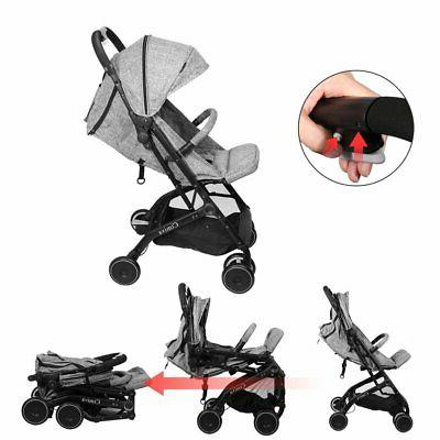 Cimiva Lightweight Baby Infant Stroller Foldable Compact Tra