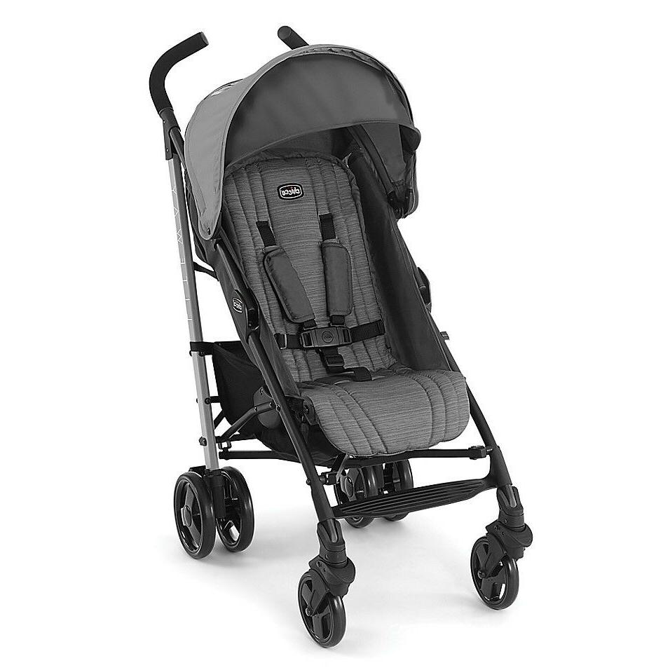 gray liteway stroller ultra light weight
