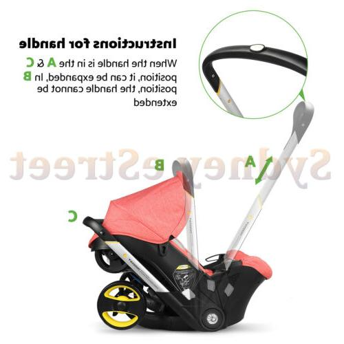Baby Infant Stroller 1 weight for travel