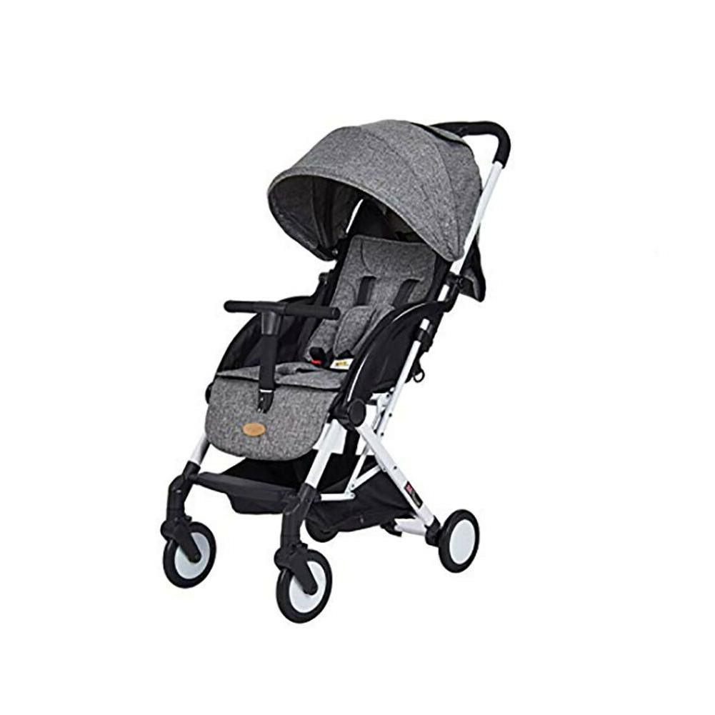 lightweight foldle stroller with 5 point safety