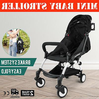 mini folding baby stroller w bag lightweight