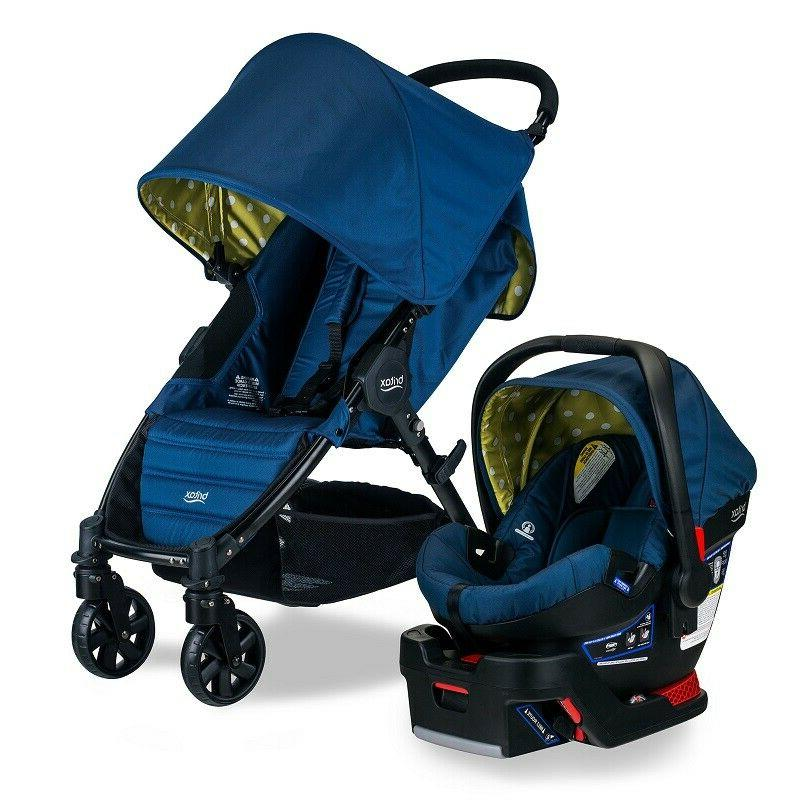 BRITAX PATHWAY & B-SAFE 35 TRAVEL SYSTEM, CONNECT - BLUE *DI