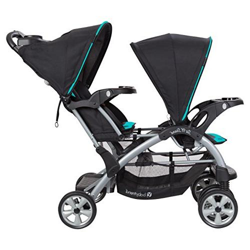 Baby Trend Sit Stand Stroller, Teal