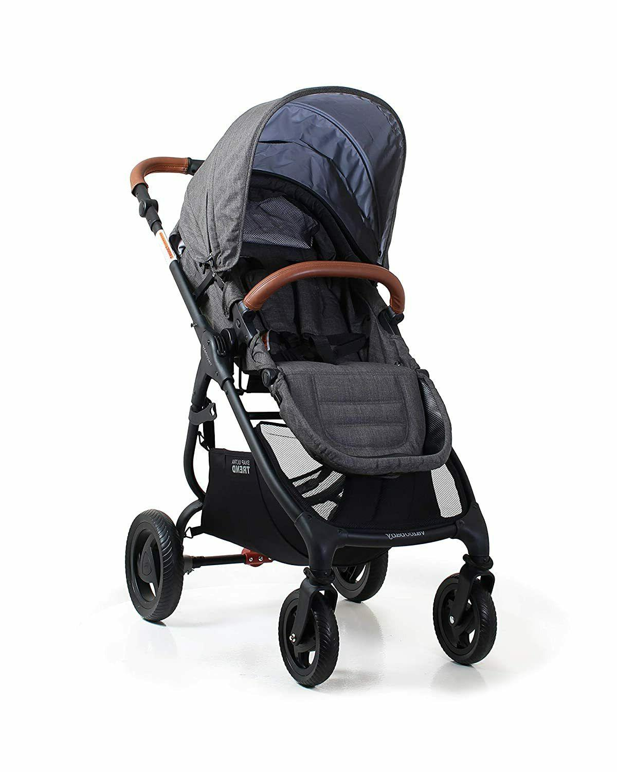 snap 4 ultra trend stroller in charcoal