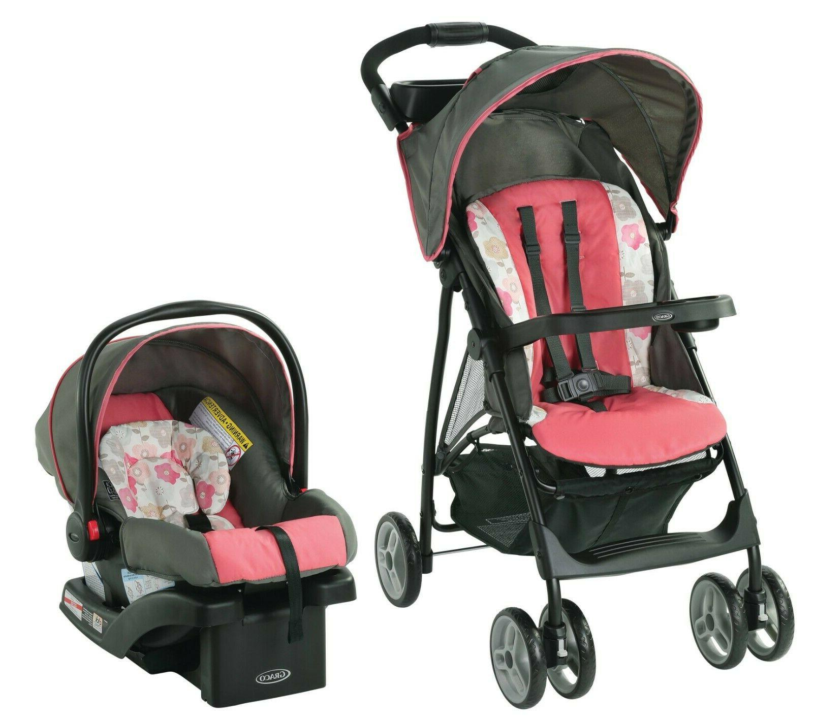 travel system baby girl lightweight safety infant