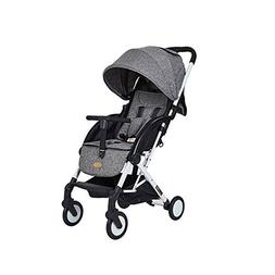 Grey Foldable Baby Kids Travel Stroller Newborn Infant Buggy