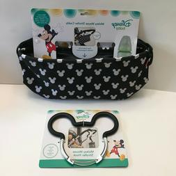 NWT Disney Baby Mickey Mouse Stroller Caddy AND Mickey Mouse