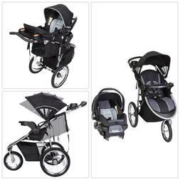 Baby Trend Pathway 35 Jogger Travel System, Optic Grey