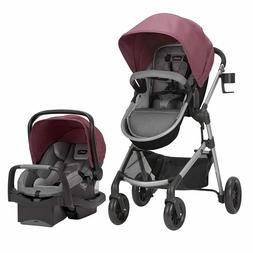 Evenflo Pivot Modular Travel System Dusty Rose