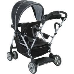 Graco RoomFor2 Click Connect Stand and Ride Double Stroller,