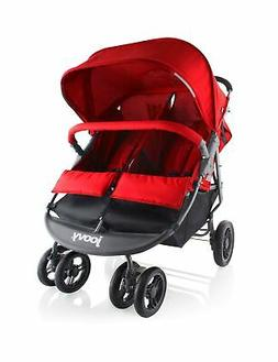 Joovy Scooter X2 Double Stroller - Red