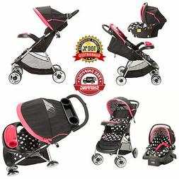 Travel System Baby Girl Lightweight Infant Reclining Seat St