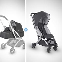 Uppababy Minu Stroller +From Birth Kit - Jordan (Charcoal Me